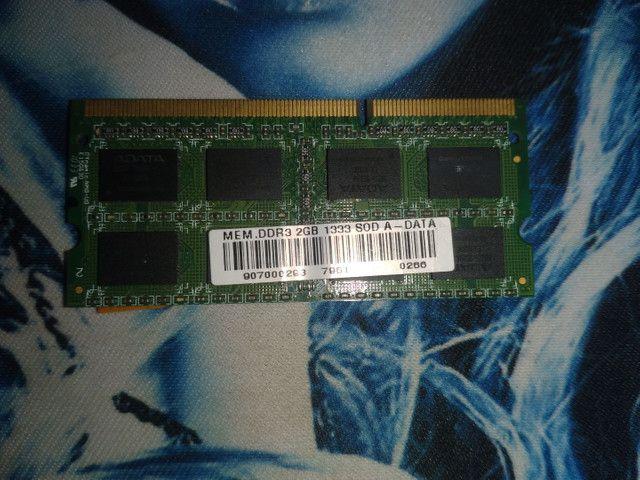 Vendo memoria ram ddr3 133 - Foto 2