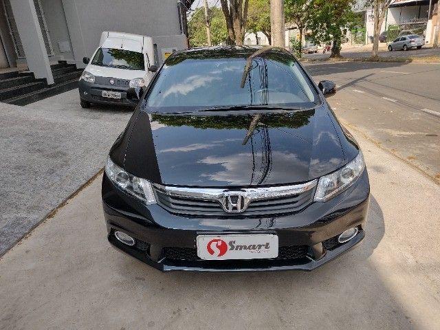 Honda Civic lxs 1.8 automatico 2014 - Foto 3
