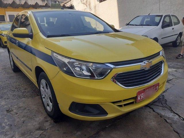 taxi cobalt + autonomia lt 1.4 unico dono. impecável - Foto 2