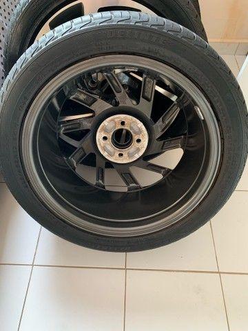 Jogo de rodas novo  aro 17 com pneus novos - Foto 2