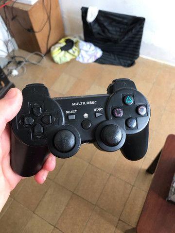 PS3 com 14 jogos  - Foto 4