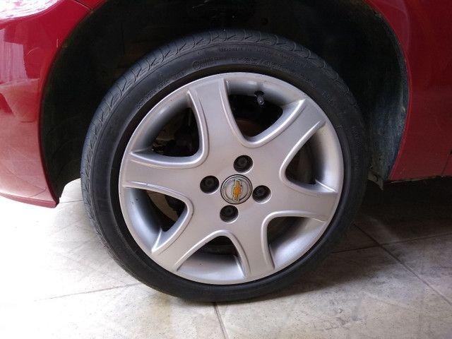 Roda Astra aro 15 GM 4x100 com pneu - Foto 2