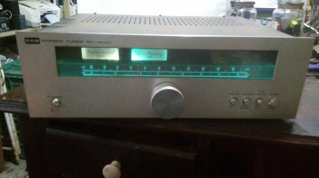 Sintonizador cce linha 4040 raridade