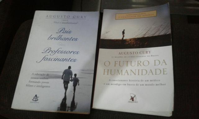 Livros augusto cury