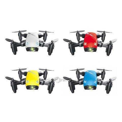 S9 Micro Foldable RC Drone-RTF-Versão Standard Branco