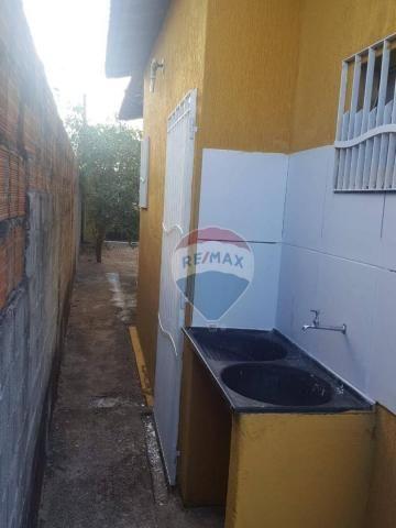 Casa com 2 dormitórios para alugar, 80 m² por r$ 500/mês - nova esperança - parnamirim/rn - Foto 3