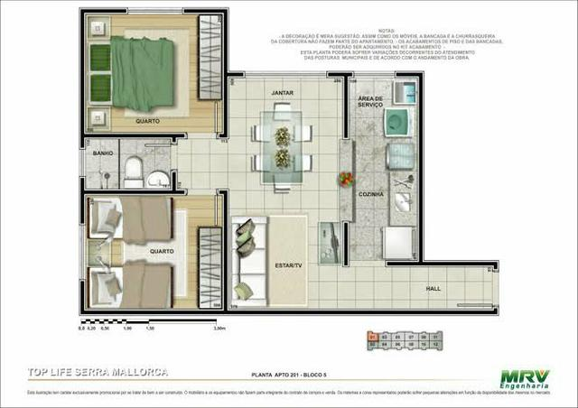 Apartamento, vendo ou troco - Foto 7