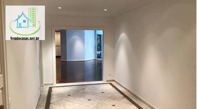 Apartamento com 5 dormitórios para alugar, 541 m² por r$ 23.000/mês - santo amaro - são pa - Foto 5