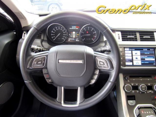 EVOQUE 2012 2.0 PRESTIGE 4WD 16V GASOLINA 4P AUTOMÁTICA PRETA COMPLETA + TETO SOLAR! - Foto 10