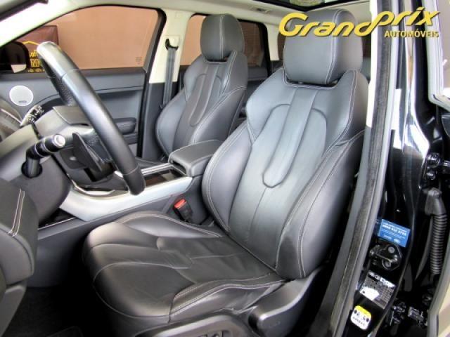 EVOQUE 2012 2.0 PRESTIGE 4WD 16V GASOLINA 4P AUTOMÁTICA PRETA COMPLETA + TETO SOLAR! - Foto 13