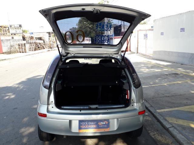GM-Corsa Hatch 09 Premium 1.4 Flex, Troco e Financio - Foto 5