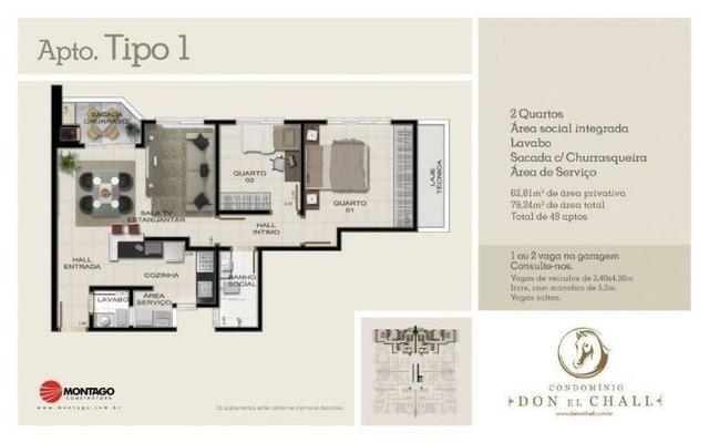 Apartamento don el chall, condominio club - Foto 7