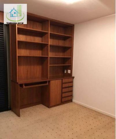Apartamento com 5 dormitórios para alugar, 541 m² por r$ 23.000/mês - santo amaro - são pa - Foto 14