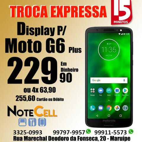 Tela Moto G6 Plus Original XT1926