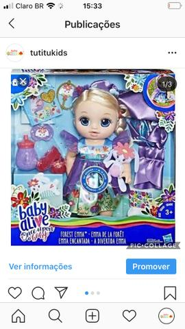 Baby alive once upon
