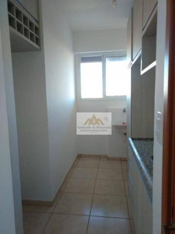 Apartamento com 2 dormitórios para alugar, 50 m² por r$ 850/mês - ipiranga - ribeirão pret - Foto 5