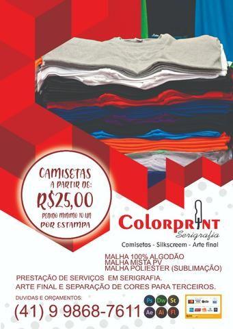 Colorprint serigrafia e camisetas personalizadas 05e2368065dc2