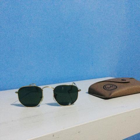 c3edd95cbf677 Óculos Rayban HEXAGONAL ORIGINAL Semi-Novo - Bijouterias