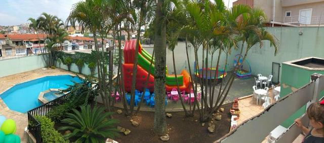 Espaço eventos salão de festas chácara com piscina Sao Bernardo do campo, casamentos - Foto 17