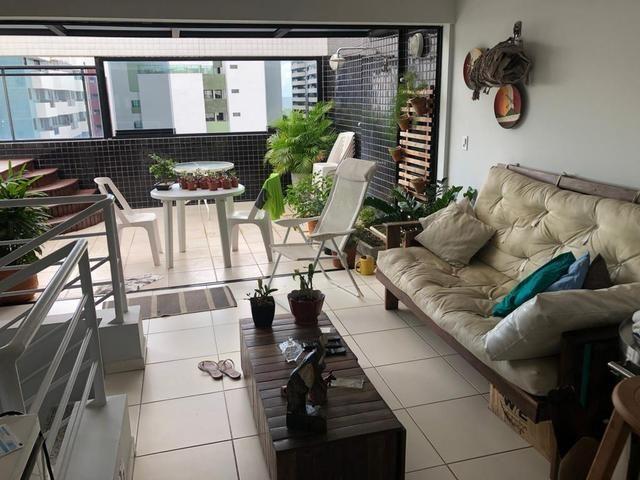 Apartamento tipo Cobertura duplex com 3/4 +DCE , nascente e bastante ventilada ( Jatiúca ) - Foto 12