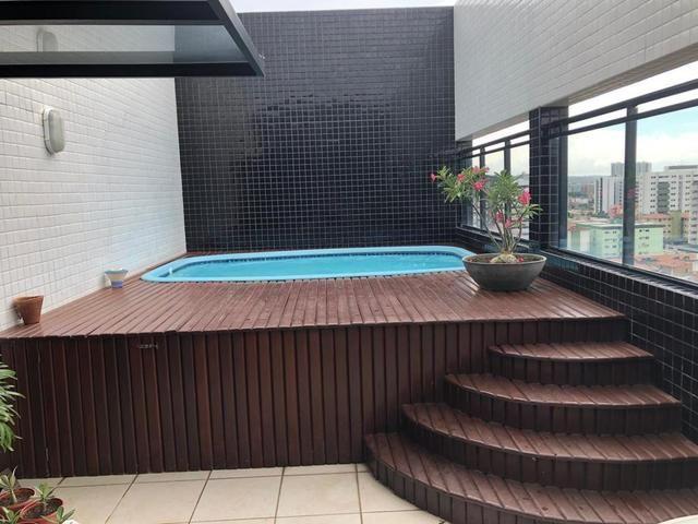 Apartamento tipo Cobertura duplex com 3/4 +DCE , nascente e bastante ventilada ( Jatiúca ) - Foto 10