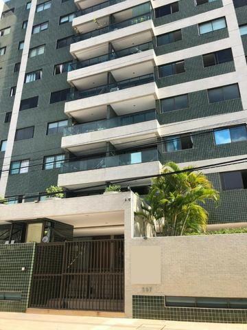 Apt de 126 m², na Jatiúca, 3 suítes + DCE, 2 vagas, só 640 mil!