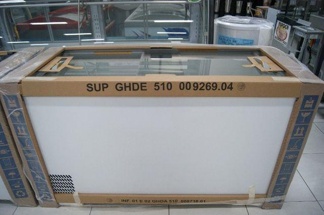 Freezer 510 Litros com tampa de vidro marca Gelopar - Sibéria Equipamentos
