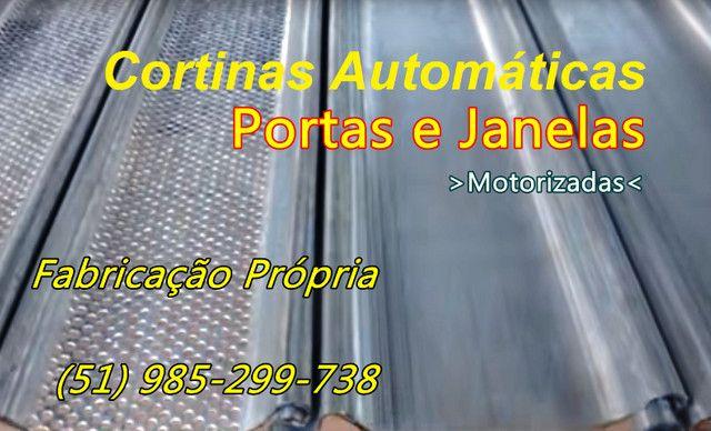 Janelas Portas e Cortinas de Enrolar Automáticas Fábrica em Porto Alegre - Foto 2