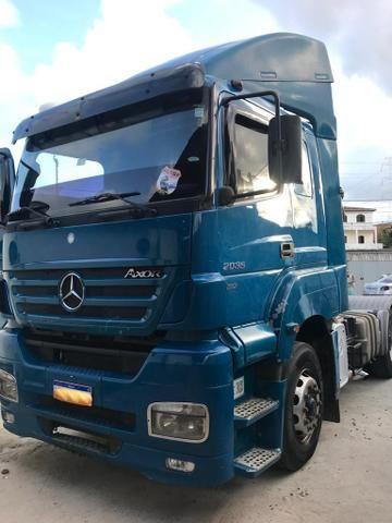 Vendo caminhões Mercedes versãos 2035 e outro iveco versão 380 truque - Foto 2