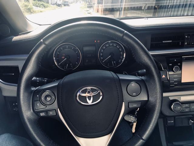 Corolla XEI modelo 2015 IPVA 2020 pago - Foto 4