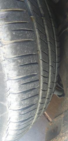 Troco jogo de rodas 14 com o pnel novos em jogo de rodas 17 - Foto 3