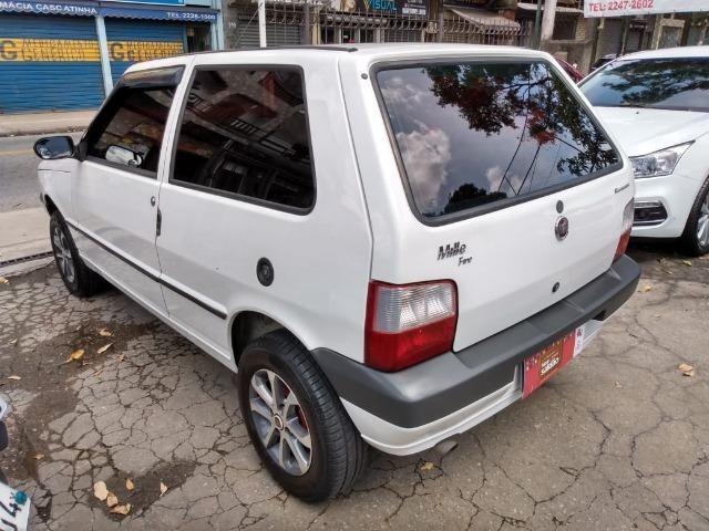 Fiat Uno 1.0 Mille Economy 8v Flex + GNV Impecável 2011 - IPVA 2020 Pago - Foto 6