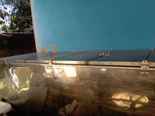 Frizer de inox 2,85 x 0,95 220v - Foto 2