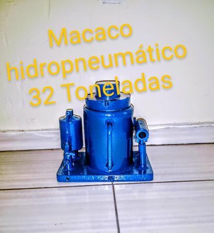 Macaco garrafa hidropneumático 32 Toneladas - Foto 3
