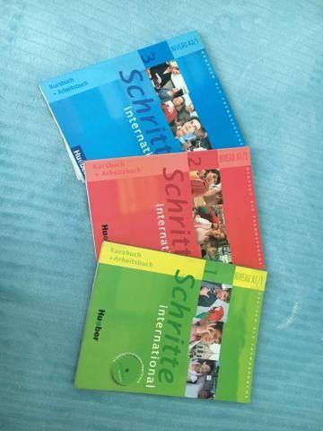 Coleção livros para aprender alemão - Schritte