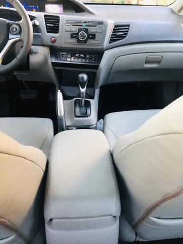 Honda Civic 1.8 LXL Automático 2013 IPVA PAGO - Foto 14