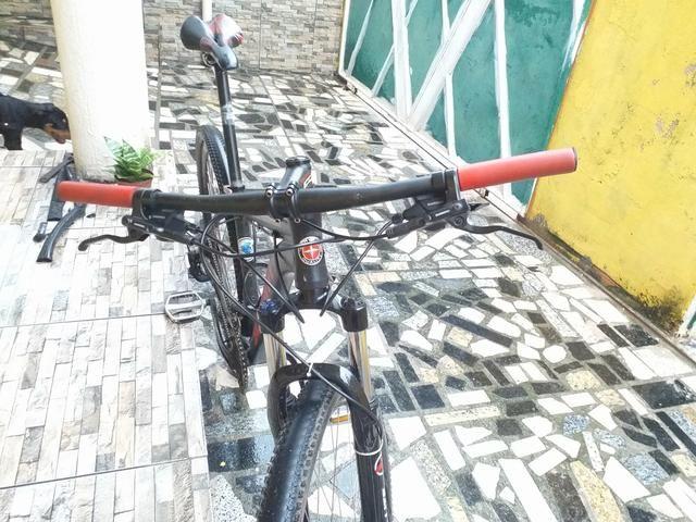Bike aro 29, aceito cartão - Foto 4