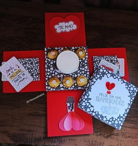 Caixa Explosao Dia dos Namorados - Foto 4