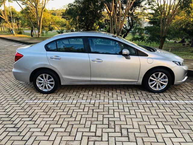 Honda Civic 1.8 LXL Automático 2013 IPVA PAGO - Foto 5