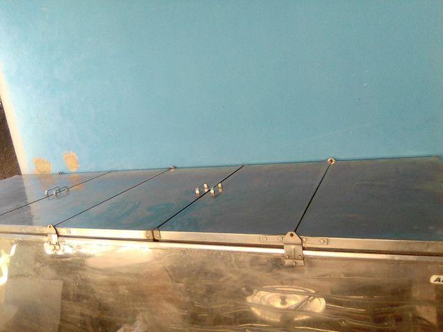 Frizer de inox 2,85 x 0,95 220v - Foto 3