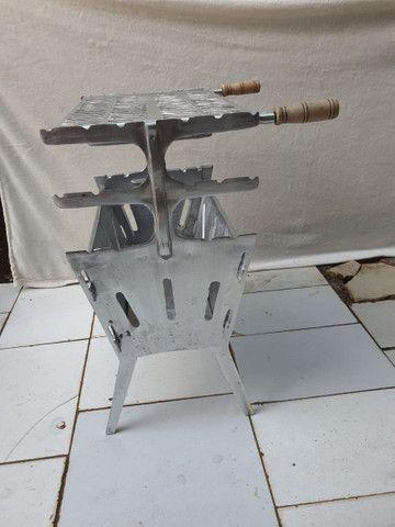 Churrasqueira desmontável a partir de 100 reais  - Foto 2
