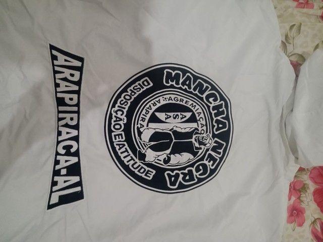 Agasalho da Mancha negra. Torcida organizada do ASA de Arapiraca Alagoas. - Foto 2