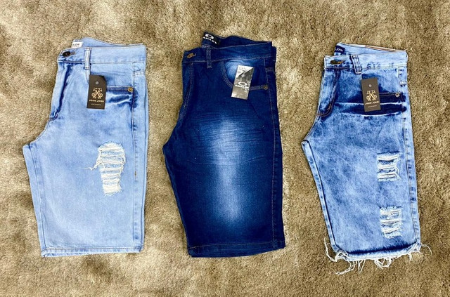 Bermudas Jeans Masculinas - Foto 4