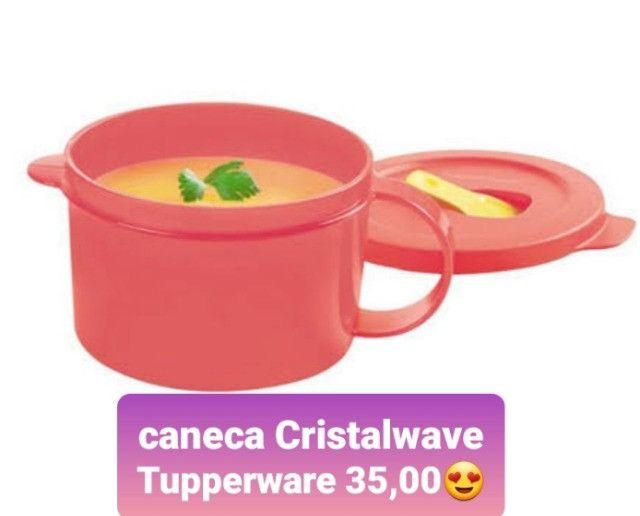 Caneca Tupperware