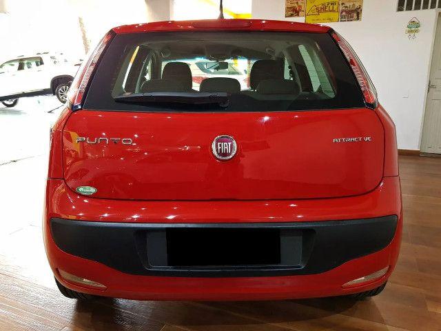 Fiat Punto 1.4 Attractive Italia 8v Flex 4p Manual-2013 - Foto 11