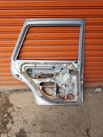 Porta traseira esquerda gol g3 (SO A LATA)  - Foto 4