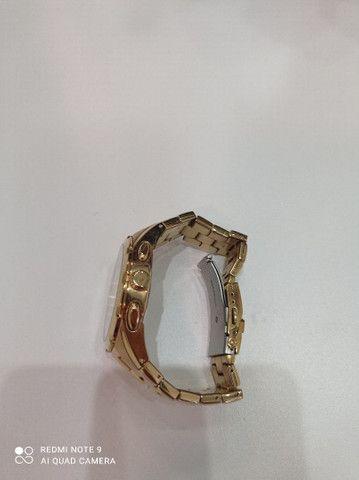 Relógio Orient novinho banhado a ouro  - Foto 3