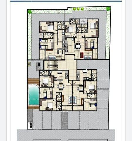 apartamento em construção Cristo