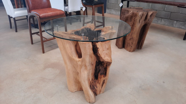 Mesa de tronco  - Foto 4