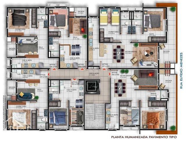 Apartamento à venda com 1 dormitórios em Camobi, Santa maria cod:10232 - Foto 3